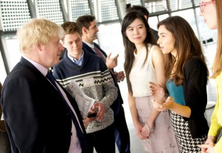 Mayor of London and Founders of Clotho