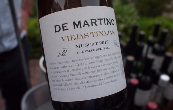 De Martino Viejas Tinajas Muscadet 2012 £15 + VAT Minimum order £200 Free Delivery
